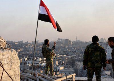 Ejército sirio ataca a los terroristas (VÍDEO)