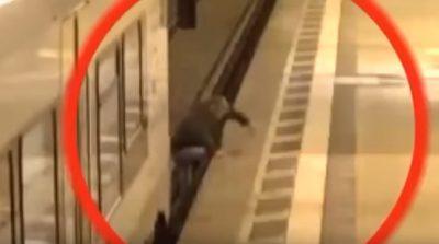 Tren arrolla a un hombre que se cruzó las vías indebidamente (VIDEO)