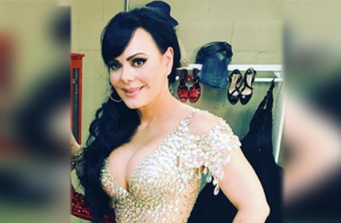 Maribel Guardia enloquece las redes sociales con vestido transparente (FOTOS)