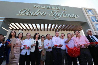 Se inaugura museo a Pedro Infante en Guamúchil