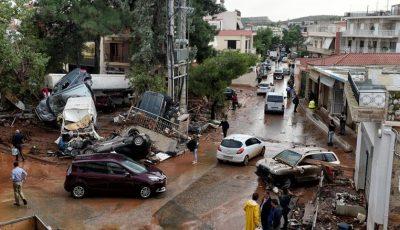 Fuertes inundaciones en Atenas habrían dejado al menos 19 muertos
