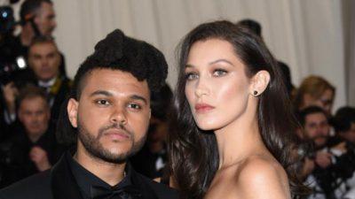 Ven a The Weeknd en casa de su exnovia  Bella Hadid, ¿regresará con ella?