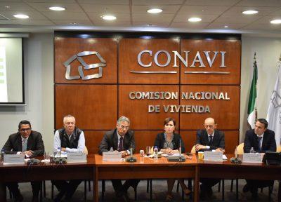 Juan Carlos Lastiri, Subsecretario de la Sedatu preside sesión ordinaria de la CONAVI