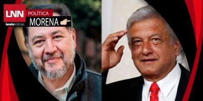 Fernández Noroña competirá con AMLO por candidatura presidencial de MORENA