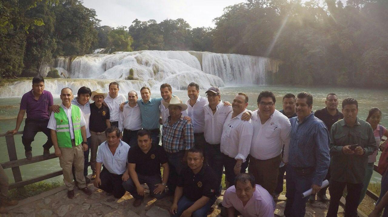 Recuperan su cauce las Cascadas de Agua Azul: CONAGUA 