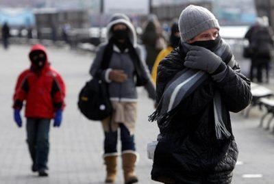SMN advierte que frente frío provocará bajas temperaturas en el país