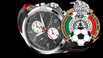 Conoce el reloj conmemorativo de la Selección Mexicana (FOTOS)
