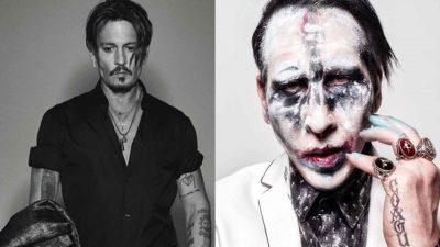 Marilyn Manson y Johnny Depp protagonizan erótico video (VIDEO)