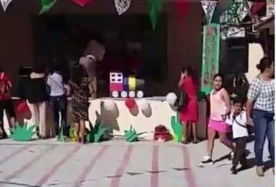 Con 'perreo intenso' niños de preescolar celebran la Revolución Mexicana (VIDEO)