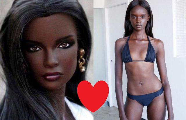 """La deslumbrante """"Barbie Africana"""" que sorprende al mundo con su belleza (FOTOS)"""