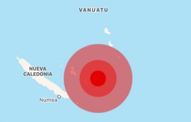 Fuerte sismo de 7. grados sacude al pacífico; hay alerta de Tsunami