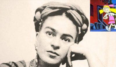 'Helga', de 'Hey Arnold' fue inspirada en Frida Kahlo de niña