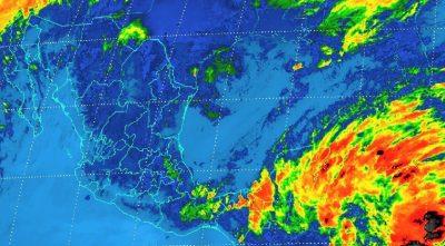 Pronostican tormentas para 10 estados del país