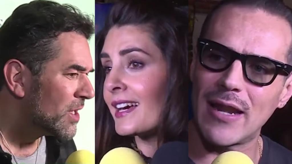 Increíble reacción de Mayrín Villanueva y Eduardo Santamarina al toparse con Jorge Poza