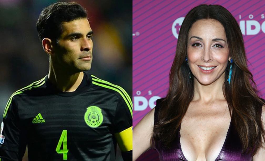 Rafa Márquez contrademanda a Adriana Lavat y no le paga la pensión