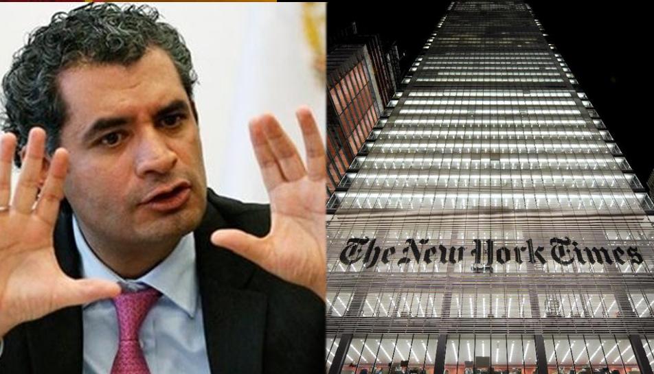 En México hay medios críticos y libres: Enrique Ochoa al New York Times