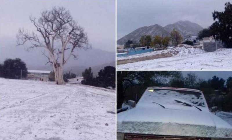 Frío histórico en Zacatecas, están a 15 grados bajo cero