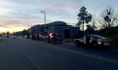Balean bases policiales municipales en Michoacán