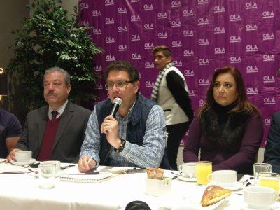Reporta Ríos Piter un avance del 33% en respaldo ciudadano