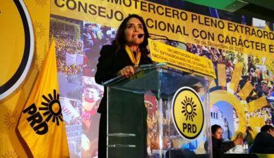 Alejandra Barrales se va del PRD; buscará candidatura en la CDMX