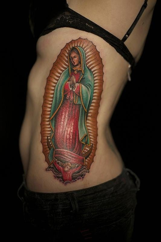 Asombrosos Tatuajes De La Virgen De Guadalupe Lnn Lanetanoticias