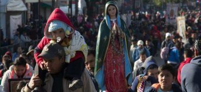 Indican que hay al rededor de 5.3 millones de peregrinos en la Basílica de Guadalupe