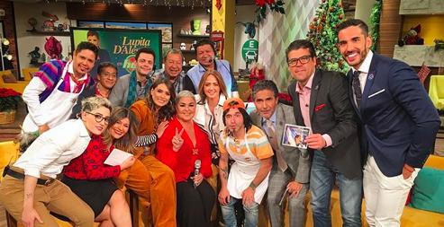 Lupita D'Alessio perdona a Andrea Legarreta y hacen las paces