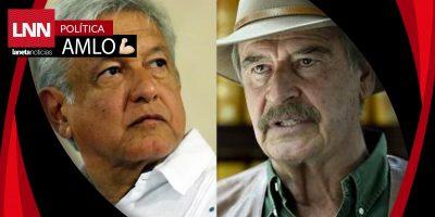 """""""AMLO quiere seguir viviendo cómodamente de los mexicanos"""": Fox"""