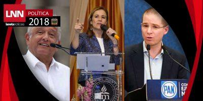 Margarita Zavala reta a AMLO y Anaya a no usar spots en las precampañas