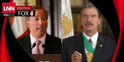 """""""Estoy con José Antonio Meade, no con el PRI"""": Vicente Fox"""