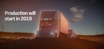 Pepsi ordena 100 camiones eléctricos a Tesla