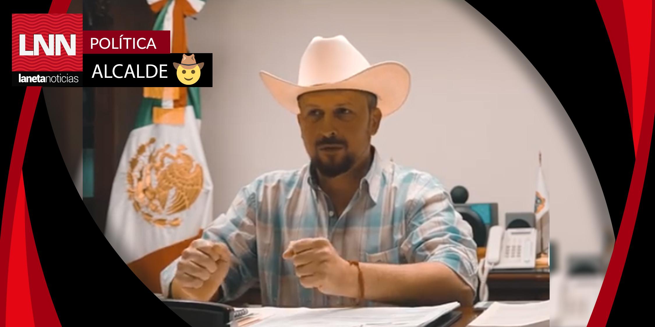 Alcalde de Río Bravo presume obras con música del 'Komander' (VIDEO)