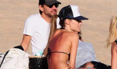 <i>Pampita</i> Ardohain calienta a todo Uruguay con sensual bikini