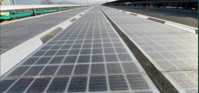 Inauguran autopista solar en China