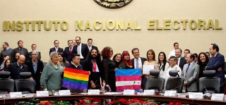 Garantiza INE derecho y ejercicio del voto a personas trans en 2018