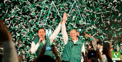 Partido Verde arropa a Meade como precandidato a la Presidencia rumbo a 2018