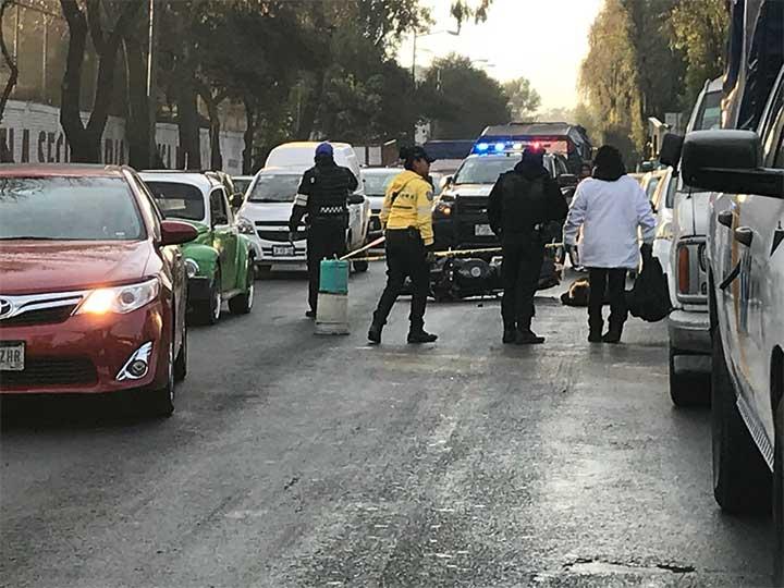 Mujer muere por imprudencia en accidente de moto