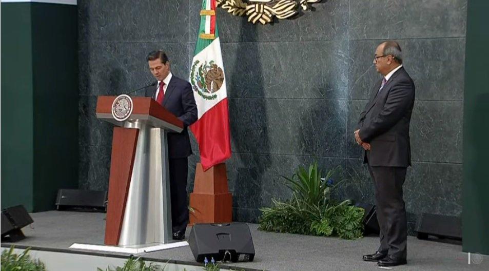 Peña Nieto toma protesta a Otto Granados Roldán, como titular de la SEP