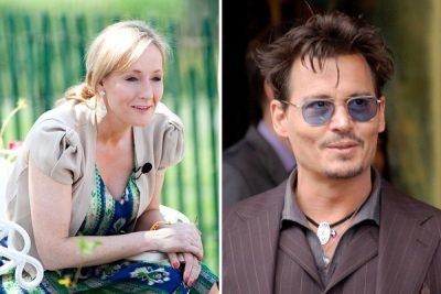 La autora de Harry Potter defiende a Johnny Depp tras ser acusado de violencia conyugal