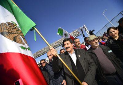 Javier Corral inicia marcha por la dignidad de Chihuahua a CDMX