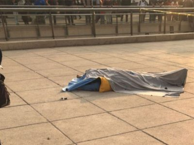 Hombre muere tras arrojarse del Monumento a la Revolución (VIDEO)