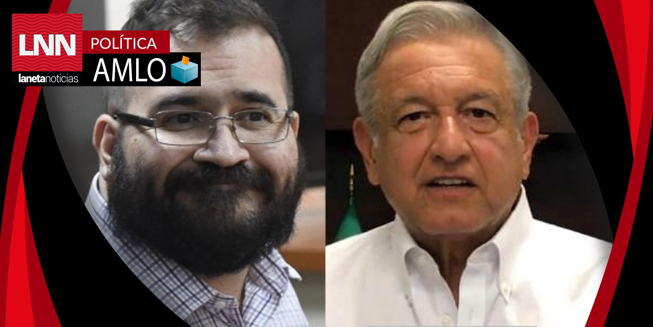 Javier Duarte niega categóricamente haber apoyado a AMLO