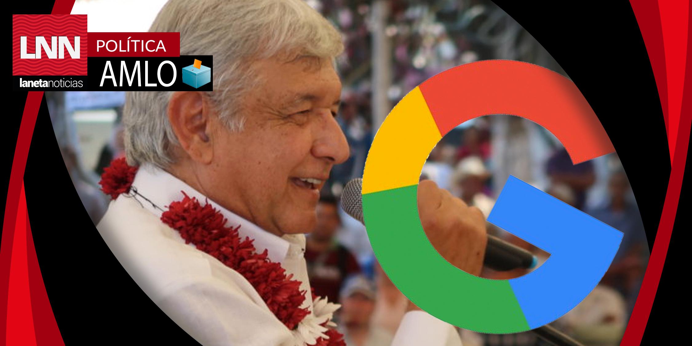 AMLO es el precandidato presidencial más buscado en Google