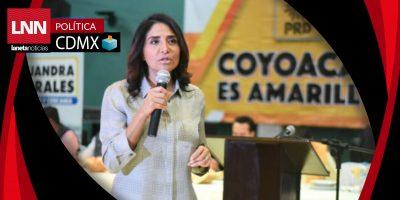 Disputa por CDMX sólo es entre Morena y el Frente: Alejandra Barrales