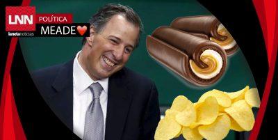 José Antonio Meade dejará las papitas y los ChocoRoles; se pondrá a dieta