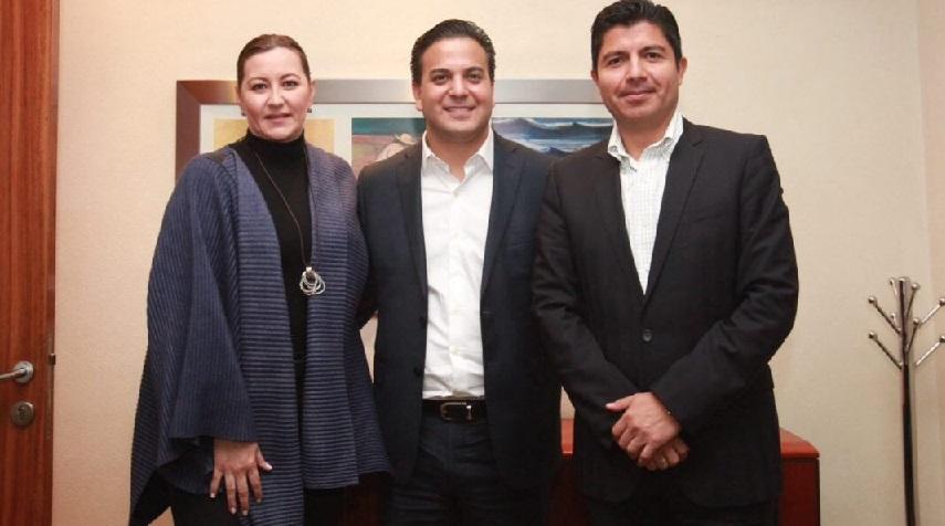 Damían Zepeda cierra filas en torno a Martha Erika y Eduardo Rivera en Puebla