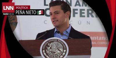 Asegura Peña Nieto que la pobreza ha reducido en el país