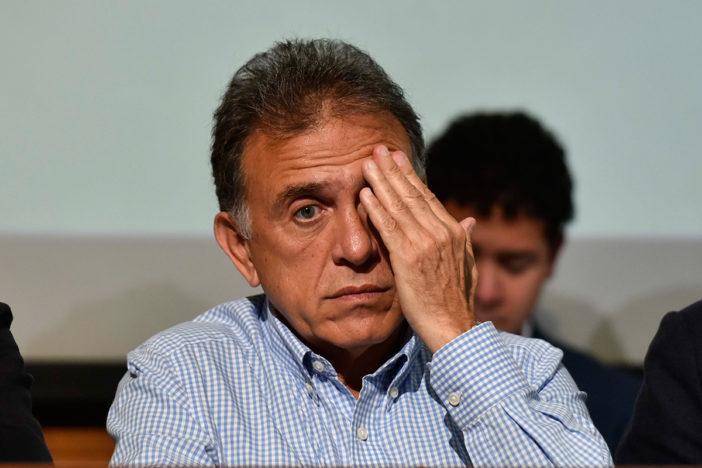 Más de 10 mil antorchistas demandan obras al gobernador Yunes