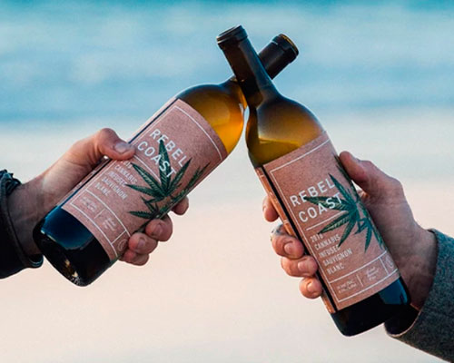 Venden el primer vino con marihuana en vez de alcohol en California