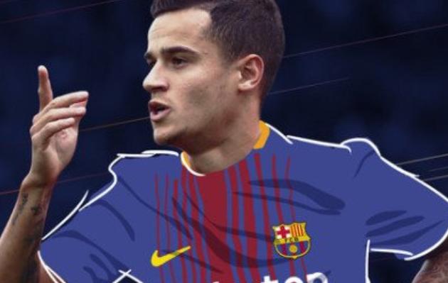 Philippe Coutinho es nuevo jugador del Barcelona (FOTOS)
